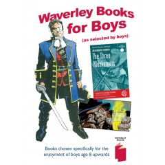 Waverley Books for Boys Leaflet to promote reading
