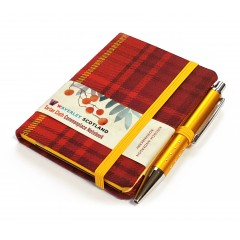 Scottish Traditions: Waverley Scotland Genuine Tartan Cloth Commonplace Notebooks