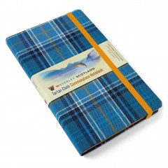 New Large Waverley tartan notebooks